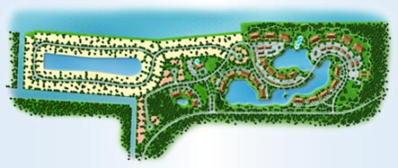 Site Plan Of New Homes At Tidelands In Palm Coast